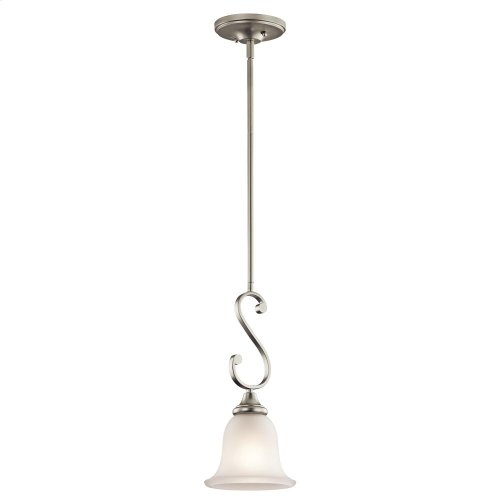 Monroe Collection Monroe 1 Light Mini Pendant NI