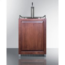 Built-in Undercounter Frost-free Beer Dispenser With Panel-ready Door, Digital Thermostat, and Complete Tap Kit