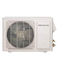 Frigidaire Ductless Split Air Conditioner Cool and Heat- 9,000 BTU, Heat Pump- 115V- Outdoor unit