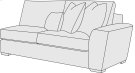 Lockett Right Arm Loveseat in Mocha (751) Product Image
