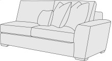 Lockett Right Arm Loveseat in Mocha (751)