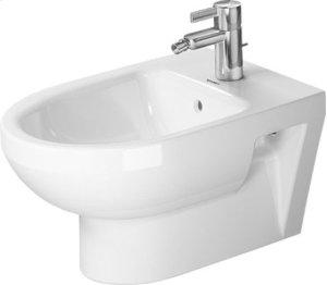 White Durastyle Basic Bidet Wall-mounted Product Image