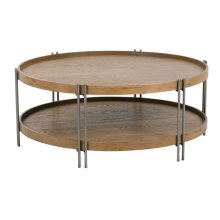 Nomad Round Cocktail Table