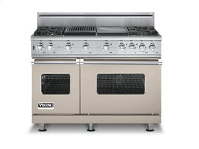 "48"" Custom Sealed Burner Self-Cleaning Range, Propane Gas, No Brass Accent"
