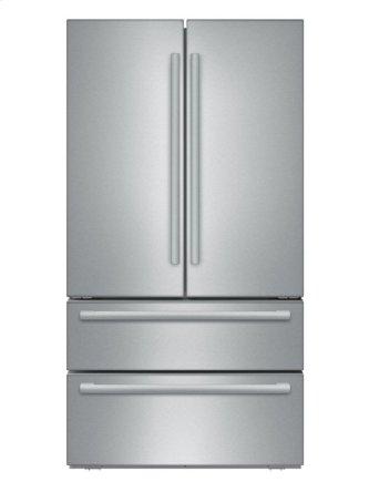 800 Series French Door Bottom freezer, 3 doors Stainless steel B21CL81SNS
