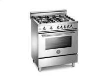 Stainless 30 Four-Burner Gas Range