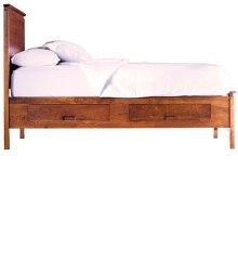 Alison Storage Bed - California King