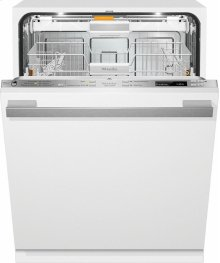 G 6565 SCVi AM Fully-integrated, full-size dishwasher with hidden control panel, 3D cutlery tray and custom panel and handle ready***FLOOR MODEL CLOSEOUT PRICE***