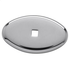 Polished Chrome Knob Back Plate