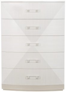 Axiom Tall Chest in Linear Gray (381)