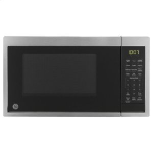 GE®0.9 Cu. Ft. Capacity Countertop Microwave Oven with Scan-To-Cook Technology