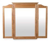 Crown Tri-View Dresser Mirror, Large