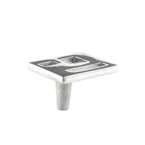 Polished Aluminum Marcel Knob 1 1/2 Inch