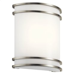 1 Light LED Wall Sconce NI