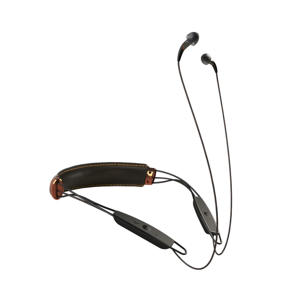 X12 Neckband Headphones - Black