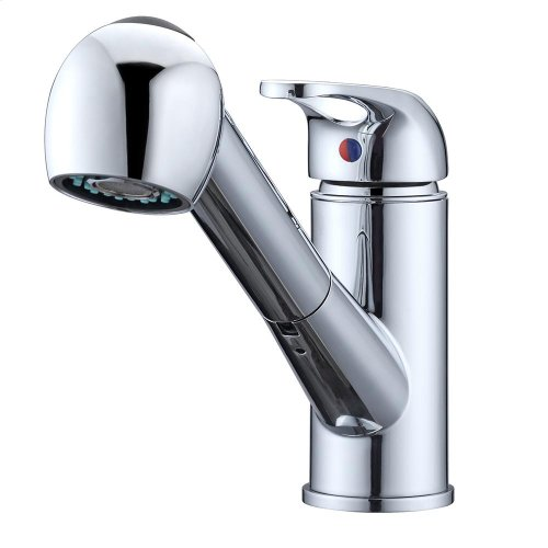 Sable Single Handle Kitchen Faucet with Pull-Out Spray - Brushed Nickel