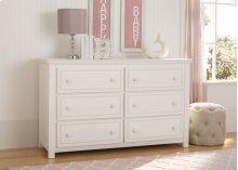 Oakmont 6 Drawer Dresser - Rustic Bianca (170)