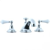 Asbury - 3pc Roman Tub Filler Trim - Polished Chrome
