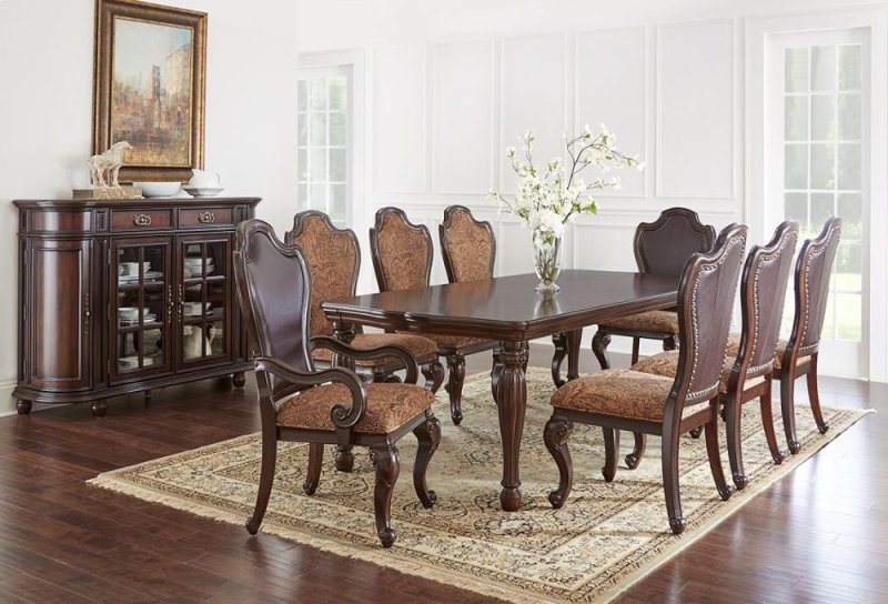 Angelina Dining Table 48x64x 80x96 W Two