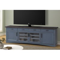 Americana Modern Denim 92 in. TV Console Product Image