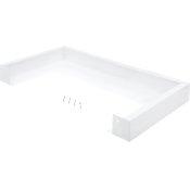 White Microwave Over-Range Filler Kit