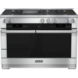 MieleHR 1956 LP 48 inch range Dual Fuel with M Touch controls, Moisture Plus and M Pro dual stacked burners