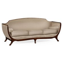 Empire Style Sofa (Mahogany/COM)