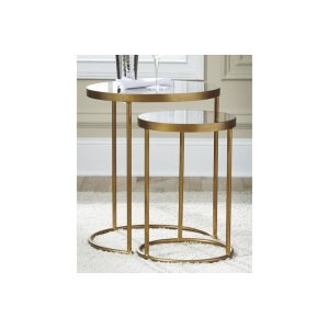 Ashley FurnitureSIGNATURE DESIGN BY ASHLEAccent Table Set (2/CN)