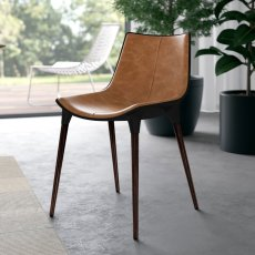 Langham Dining Chair in Leather Product Image
