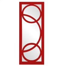 Dynasty Mirror - Glossy Red