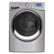 Whirlpool® Smart Front Load Washer with 6th Sense Live Technology - Silver