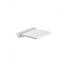 AS160 - Soap Dish with Corian Holder - Polished Chrome