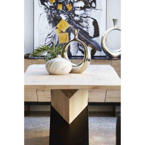 Carrara Vase Round