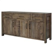 Bianco Buffet with 5 Drawers + 3 Doors, Rustic Tuscan Product Image