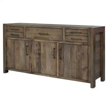Bianco Buffet with 5 Drawers + 3 Doors, Rustic Tuscan