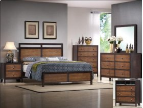 Tamblin Queen Headboard/footboard