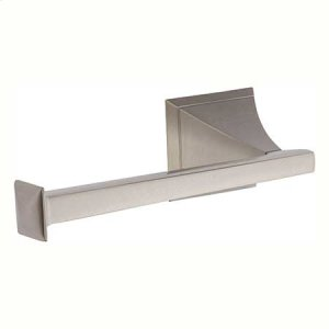 Satin Nickel Open Toilet Tissue Holder