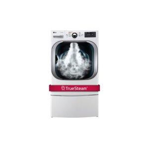 9.0 cu. ft. Mega Capacity Gas Dryer w/ Steam Technology - WHITE