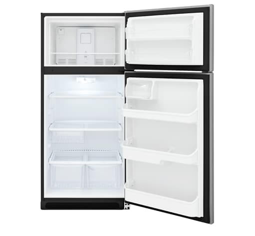 Ffht1832ts Frigidaire 18 Cu Ft Top Freezer Refrigerator