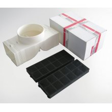 Recirculation kit for all model XOJ, XOM, XOMI, XOR, XORI and XOQ - includes parts for initial installation and two XORSQR activated carbon filter elements