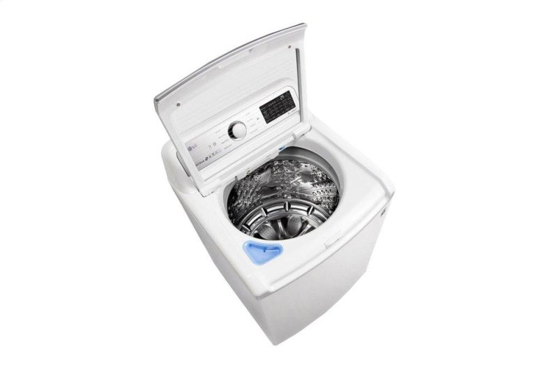 5 0 cu ft  Smart wi-fi Enabled Top Load Washer with TurboWash3D Technology