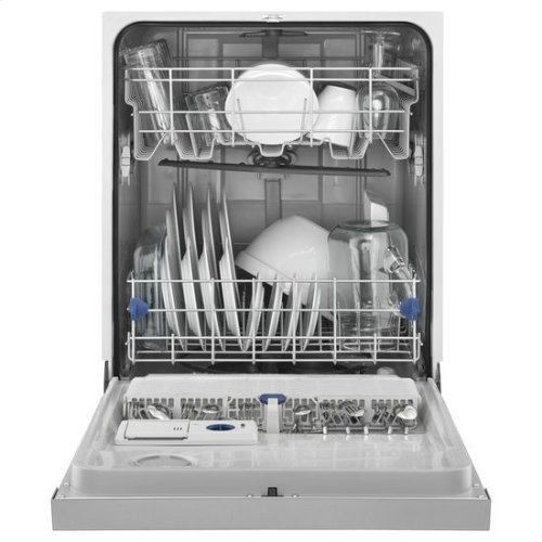 Whirlpool® ENERGY STAR® Certified Dishwasher with Sensor Cycle - Monochromatic Stainless Steel