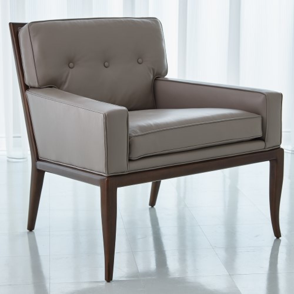 Wilson Lounge Chair-Muslin