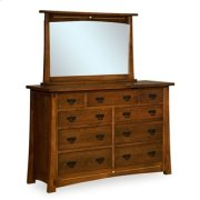 "Castlebrook 9 Drawer 65"" Dresser Product Image"