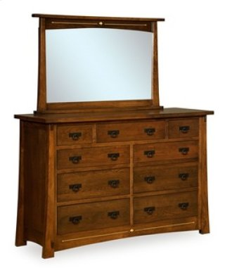"Castlebrook 9 Drawer 65"" Dresser"