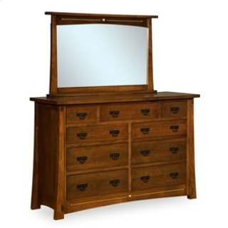"""Castlebrook 9 Drawer 65"""" Dresser"""