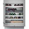 """Gaggenau 200 Series 400 Series 24"""" Under-Counter Wine Storage Unit. Under-Counter, Stainless Steel-Framed Glass Door Width 23 5/8"""" (60 Cm)"""