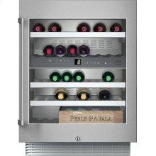 "200 series 400 series 24"" under-counter wine storage unit. Under-counter, stainless steel-framed glass door Width 23 5/8"" (60 cm)"