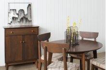 "Round 42"" 4 Legged Dining Table"