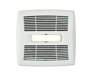 InVent Series 110 CFM 1.0 Sones LED Lighted Finish Pack with White Grille, ENERGY STAR® certified product